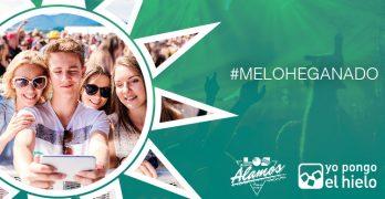 ¡Te has ganado 10 abonos dobles para el Álamos Beach Festival!