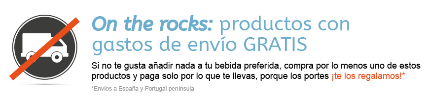 On the Rocks: Productos con gastos de envío GRATIS.