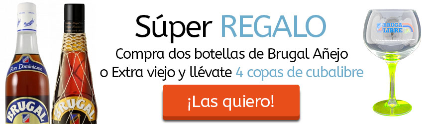 Oferta Ron Brugal Regalo